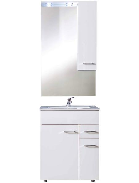 Badmöbel-Set »Minka«, BxHxT: 60 x 197 x 46 cm, weiß