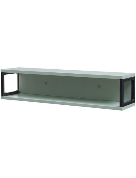 SCHILDMEYER Badregal »Limone«, BxH: 70 x 16,2 cm, Holzwerkstoff/Metall