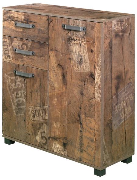 SCHILDMEYER Badschrank »Milan«, BxHxT: 80 x 94,8 x 32 cm