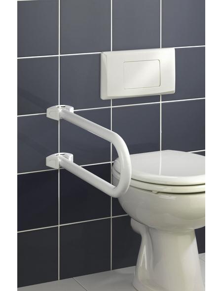 WENKO Badstützgriff »Secura«, Aluminium/Zinkdruckguss/Kunststoff, weiß