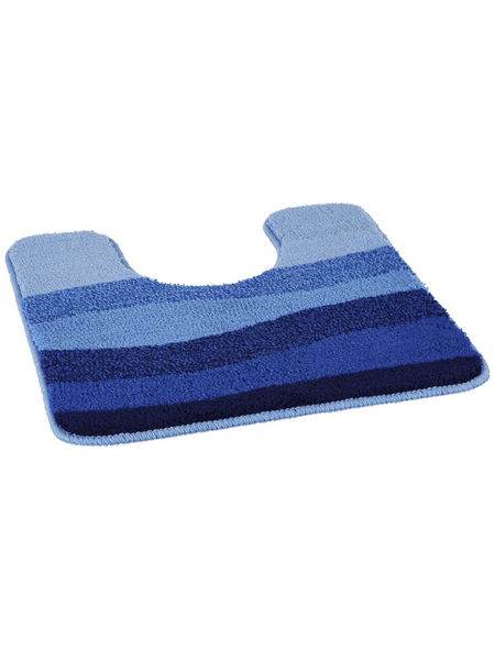KLEINE WOLKE Badteppich »Miami«, himmelblau, B x L: 50  x 50 cm