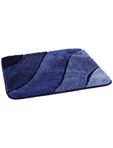 KLEINE WOLKE Badteppich »Wave«, LxBxH: 65x55x2 cm