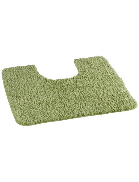 KLEINE WOLKE Badteppich »Wilna«, grün, BxL: 55cm x 55cm