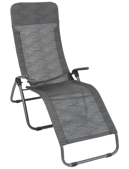 SUNGÖRL Bäderliege »Bäderliege Phönix Eco «, Stahl/Textilen, Klappfunktion