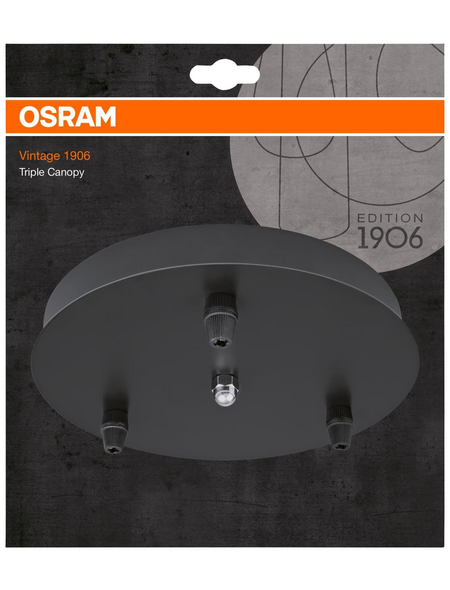 OSRAM Baldachin »Vintage 1906«, Aluminium