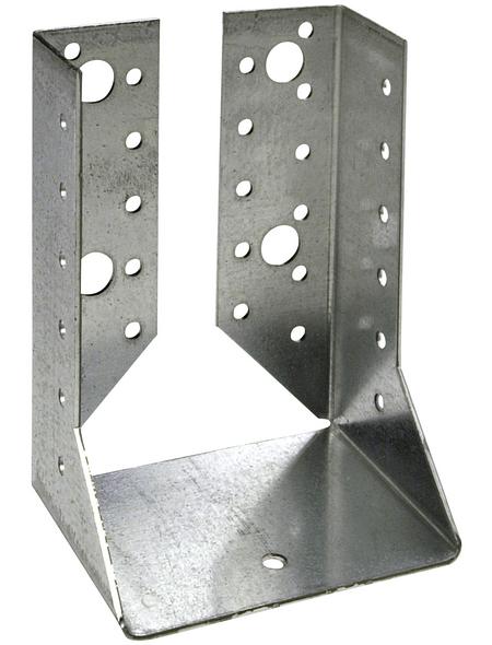 CONNEX Balkenschuh, Stahl, BxL: 80 x 2 mm