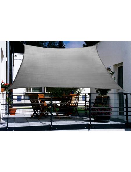 FLORACORD Balkon-Sonnensegel, rechteckig, 270 x 140 cm