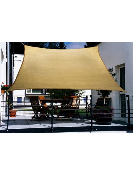 PEDDY SHIELD Balkon-Sonnensegel, rechteckig,  Format: 270 x 140   cm
