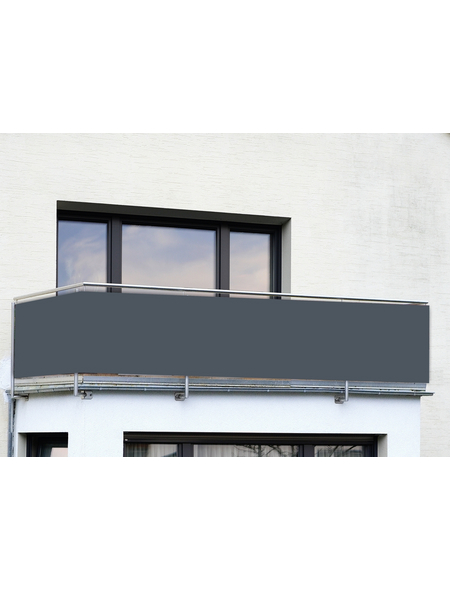 WENKO Balkonsichtschutz, Polyethylen/Polyamid, HxL: 85 x 500 cm