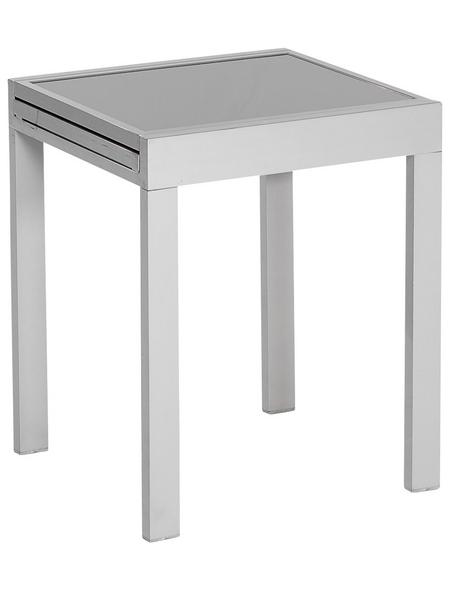 MERXX Balkontisch, mit Sicherheitsglas-Tischplatte, BxHxT: 65 x 75 x 130 cm