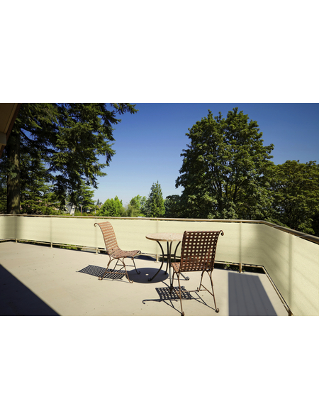 FLORACORD Balkonumrandung, HDPE, HxL: 90 x 500 cm