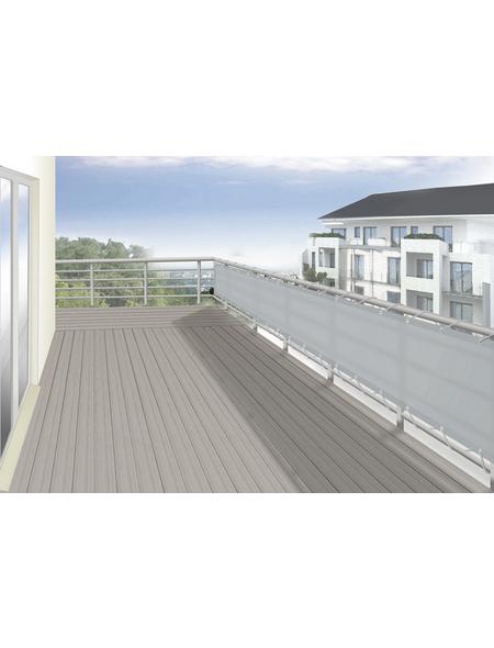 FLORACORD Balkonverkleidung, Polyester, HxL: 65 x 500 cm