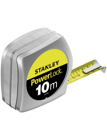 STANLEY Bandmaß, 10 Meter, Gelb | Schwarz