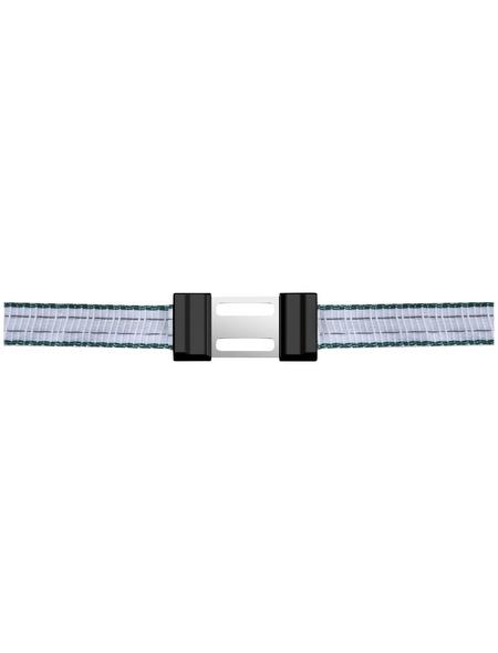 AKO Weidezaun Bandverbinder, für Weidezaun, Kunststoff / Metall