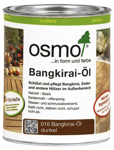 OSMO Bangkirai-Öl, seidenmatt, 0,75 l