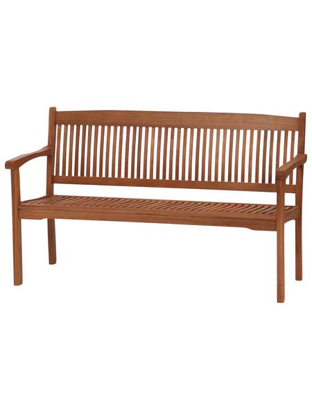 SIENA GARDEN Bank, 3-Sitzer, B x T x H: 150 x 62 x 90 cm