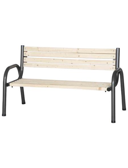 SIENA GARDEN Bank, 3-Sitzer, B x T x H: 150 x 77 x 84 cm