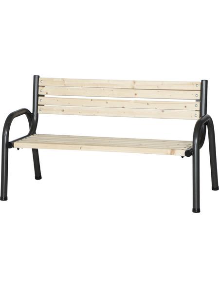 SIENA GARDEN Bank, 3-Sitzer, BxTxH: 150 x 77 x 84 cm