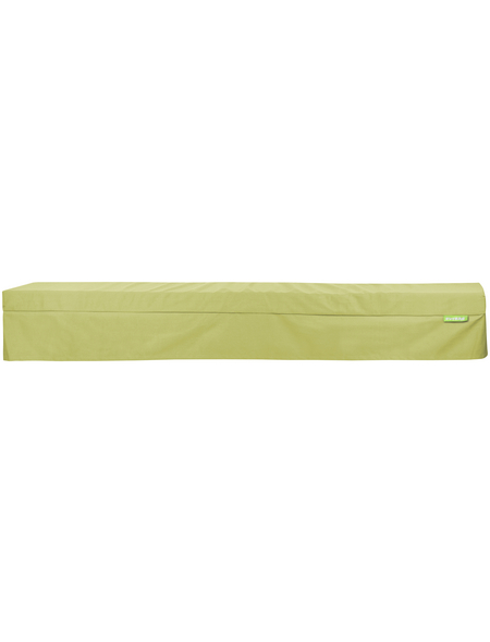 OUTBAG Bankauflage »Bench Plus«, grün, Uni, BxL: 220 x 25 cm