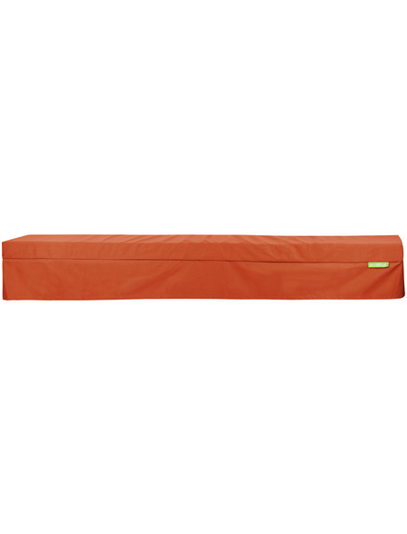 OUTBAG Bankauflage »Bench Plus«, orange, Uni, BxL: 220 x 25 cm