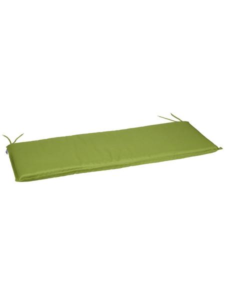 CASAYA Bankauflage, Uni, freshgreen, 120 cm x 45 cm