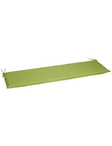CASAYA Bankauflage, Uni, freshgreen, 150 cm x 45 cm