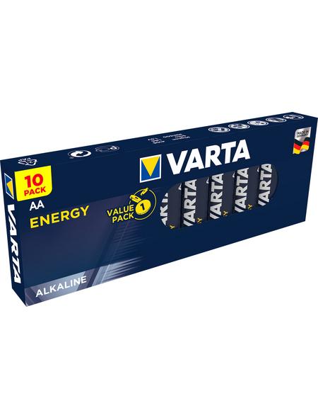 VARTA Batterie, VARTA Energy, AA-Mignon, 1,5 V, 10 Batterien