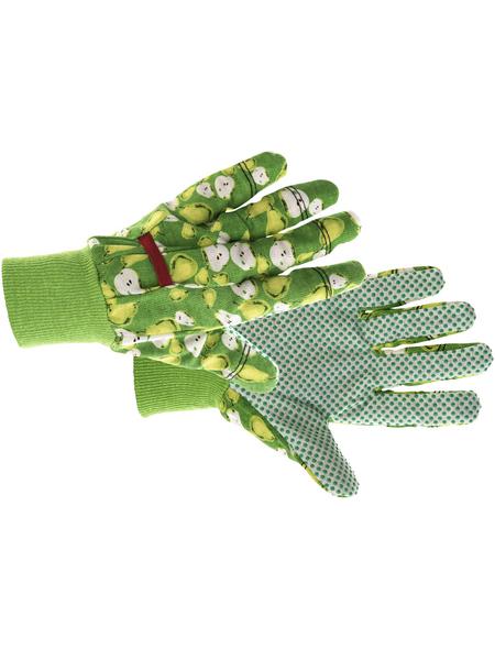 KIXX Baumwollhandschuhe »Baumwolle«, grün