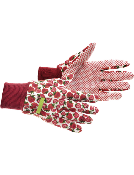 KIXX Baumwollhandschuhe »Baumwolle«, rot
