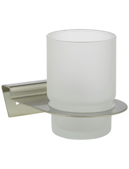 TIGER Becherhalter »Zapp«, Höhe: 9,6 cm, edelstahlfarben