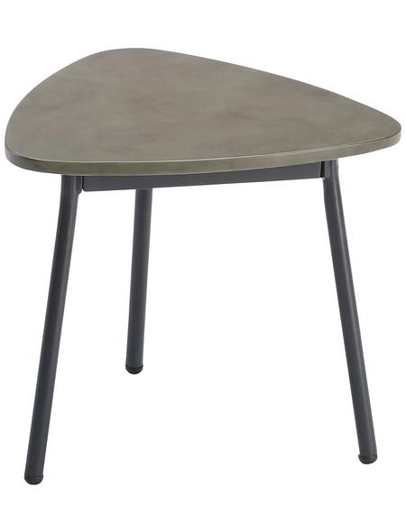 BEST Beistelltisch »Andros«, BxHxT: 40 x 35 x 38 cm, Stahl/Beton