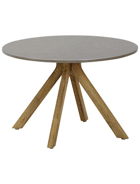 BEST Beistelltisch »Lagos«, mit Beton-Tischplatte, Ø 60 cm