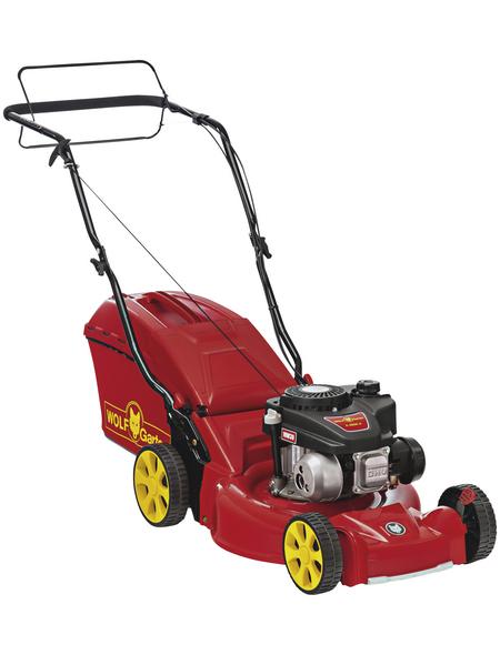 WOLF GARTEN Benzin-Rasenmäher »A-Serie mit Radantrieb«, 2,1 kW, Schnittbreite: 46 cm