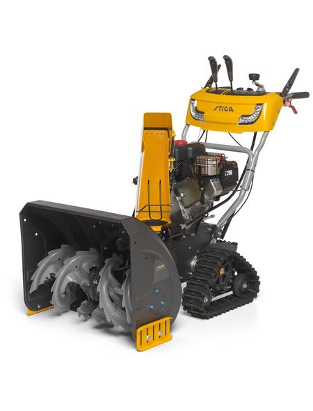 STIGA Benzin-Schneefräse »ST«, Arbeitsbreite: 66 cm, Griffheizung, Scheinwerfer