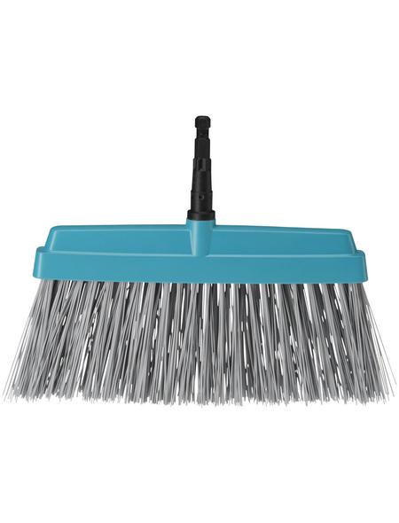 GARDENA Besen »Combisystem«, Arbeitsbreite: 32 cm, Kunststoff, grau/blau