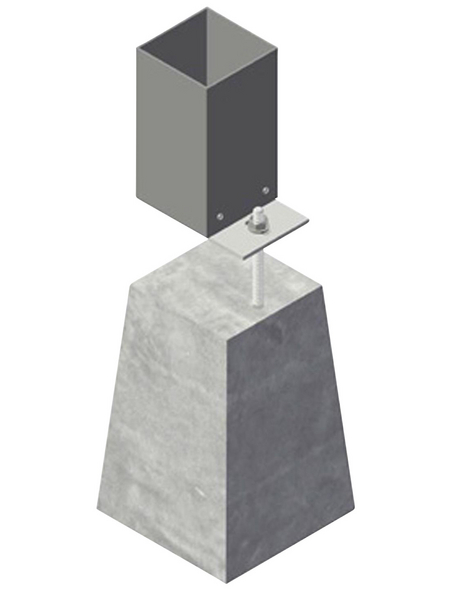 GARDENDREAMS Betonfuß, verstellbar, Länge 15 cm
