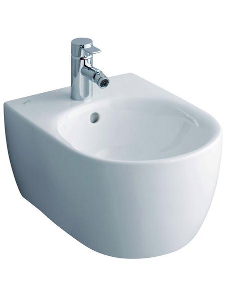 GEBERIT Bidet »iCon«, weiß, oval, BxHxT: 35.5 x 28 x 39 cm