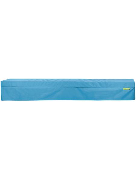 OUTBAG Bierbank-Husse »Bench Plus«, Uni, aquablau, 25 cm x 220 cm
