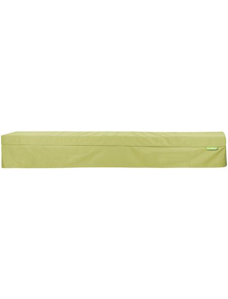 OUTBAG Bierbank-Husse »Bench Plus«, Uni, grün, 25 cm x 220 cm