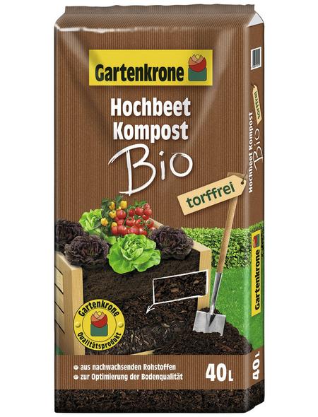 GARTENKRONE Bio-Komposterde »Bio«, für die Optimierung der Bodenqualität