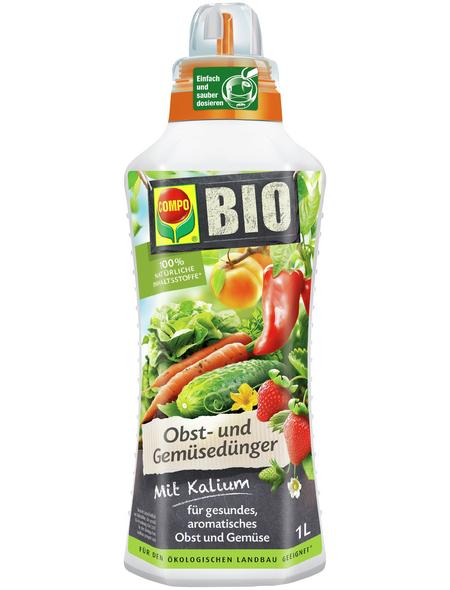 COMPO BIO Obst- und Gemüsedünger 1 l