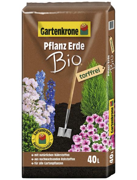 GARTENKRONE Bio-Pflanzenerde »Bio«, für alle Gartenpflanzen