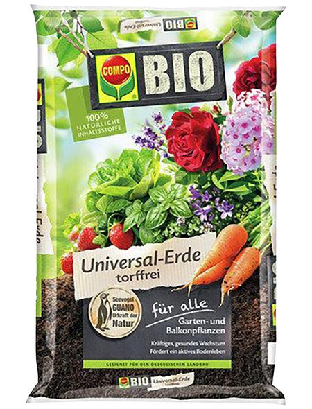 COMPO Bio-Universalerde »COMPO BIO «, für Blühpflanzen, Beet- und Balkonpflanzen, Gemüsepflanzen