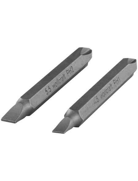 "WOLFCRAFT Bit-Set, 1/4""-Sechskant"