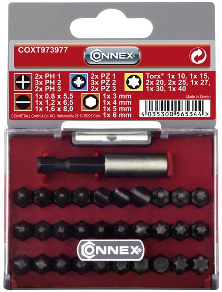 """CONNEX Bitsatz, 1/4""""-Universal-Magnethalter"""