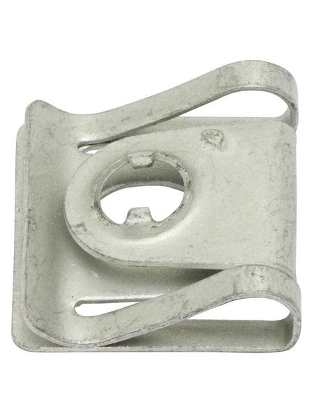 SWG Blechmutter VAG, Silber, Stahl