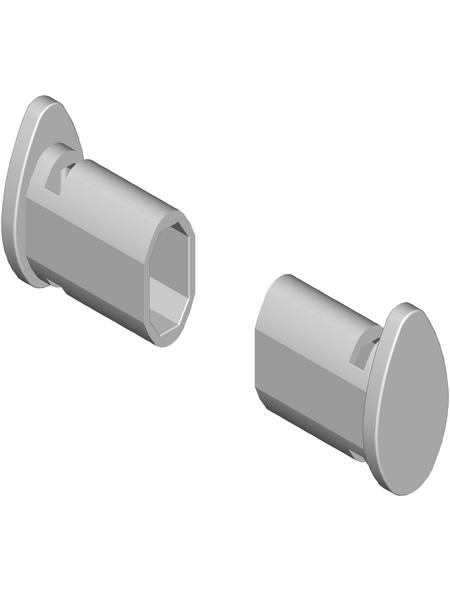 ELEMENT SYSTEM Blindstopfen, Kunststoff, grau
