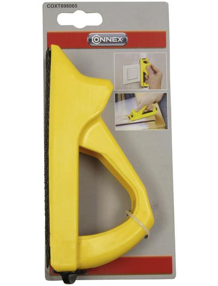 CONNEX Blockhobel Kunststoff, 14cm