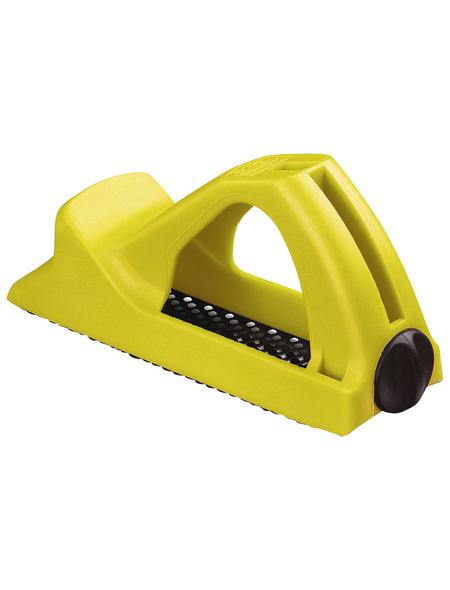 STANLEY Blockhobel, Surform, Gelb, Kunststoff, Länge: 14 cm
