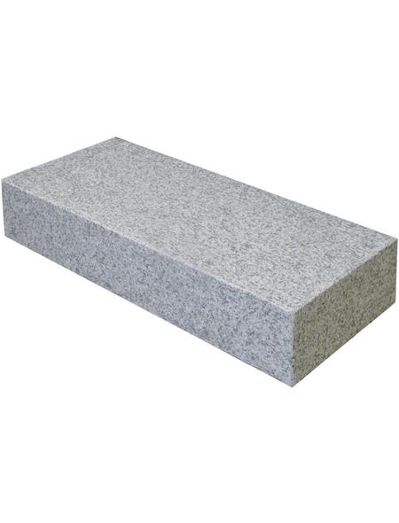 EURO STONE Blockstufe, B x L x H: 125 x 35  x 15 cm, Granit